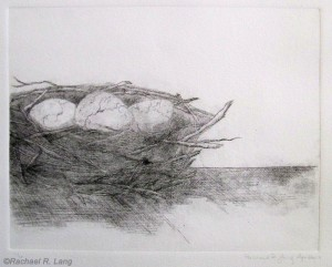 Untitled Drypoint, 2010